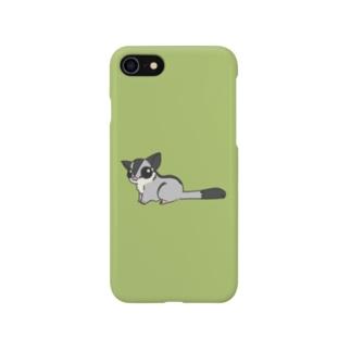 シンプルフクモモ2 Smartphone cases