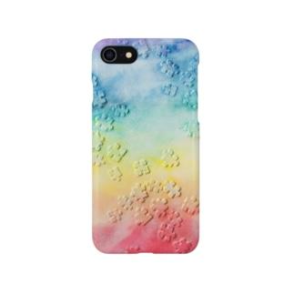 油絵「かける」 Smartphone cases