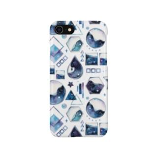 図形×星空 Smartphone cases