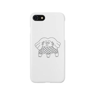 アマビエの写し Smartphone cases