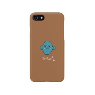エイリアンさん Smartphone cases