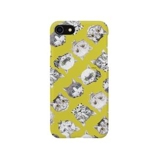 NEKOS トロピカルイエロー/スマホケース Smartphone cases
