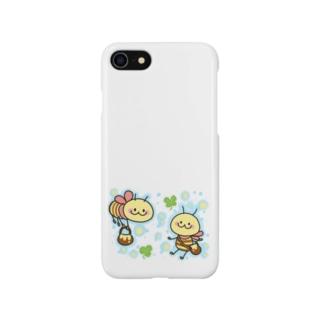 ぶんぶん♪みつばち Smartphone cases