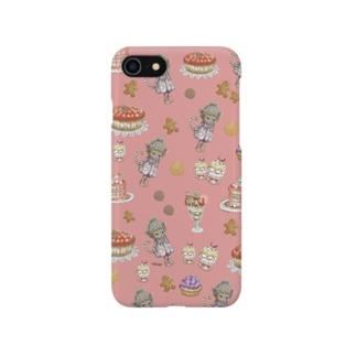 Sweets cat.CoCo フランボワーズピンク/スマホケース  Smartphone cases