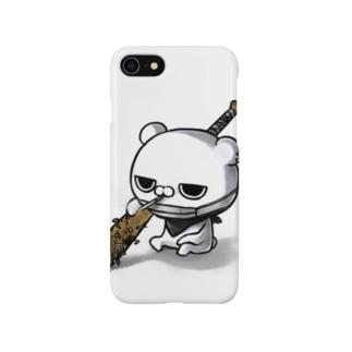 ブチギレ毒舌くま(🚬) Smartphone cases