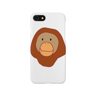 オランウータン Smartphone cases
