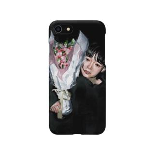 花束ガール Smartphone cases