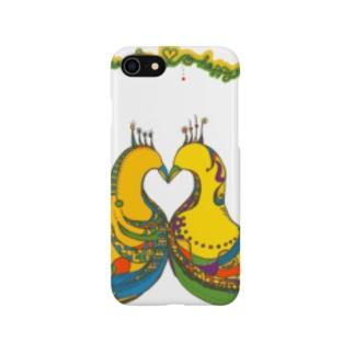 BIRDハート Smartphone cases