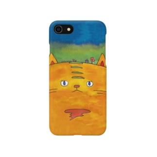 ねこヴィレッジ Smartphone cases