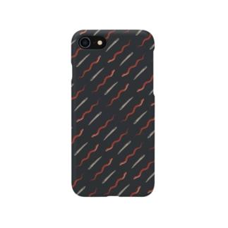 へビビンバパターン Smartphone cases