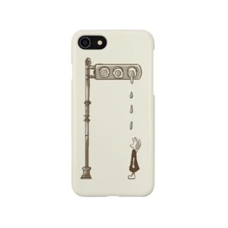 踊るこどもたちの目玉焼き Smartphone cases