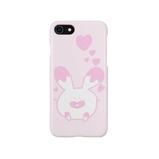 とろけるゆるうさぎ🐰 Smartphone cases