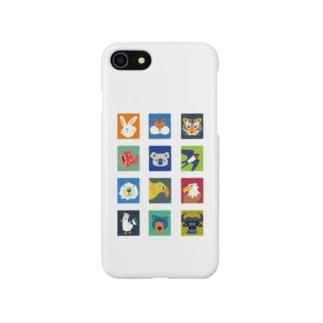 12アニマル Smartphone cases