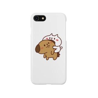 ぶーちゃんとこーすけん ぴた Smartphone cases