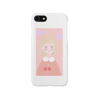 ほんわりgirl Smartphone cases