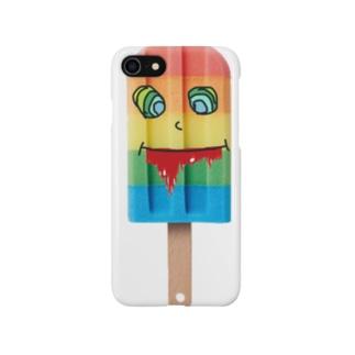 アイスキャンディーデザインケース Smartphone cases