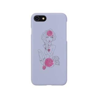 乙女座 iphoneケース Smartphone cases