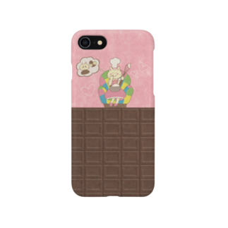 やたにまみこのiPhone6 Plus / 6s Plus用ケース◆ ema-emama『sweet-cat』 Smartphone cases