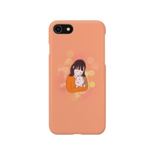 赤ちゃん お母さん Smartphone cases