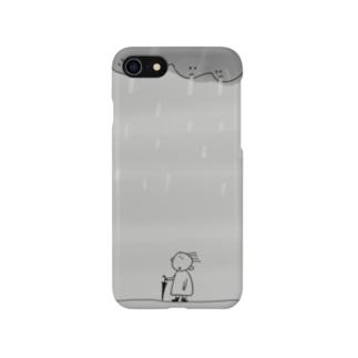 目があったよ Smartphone cases