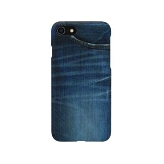 デニムからのデニム Smartphone cases