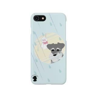 ミニチュア・シュナウザー Smartphone cases