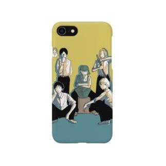 踊るこどもたちの集結 Smartphone cases
