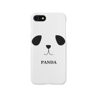 パンダface Smartphone cases