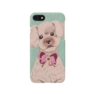 おめかしローズさん(グリーン) Smartphone cases