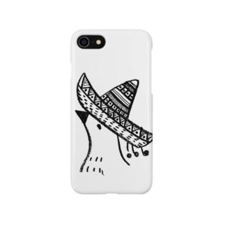 メキシカンヤマドリのスマホケース Smartphone cases