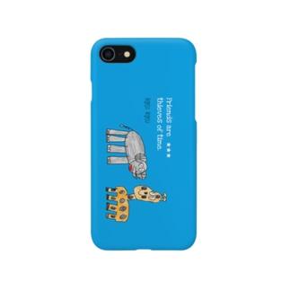 なかよしこよし Smartphone cases
