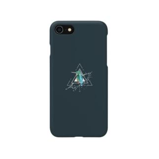 カワセミ スマホケース Smartphone cases