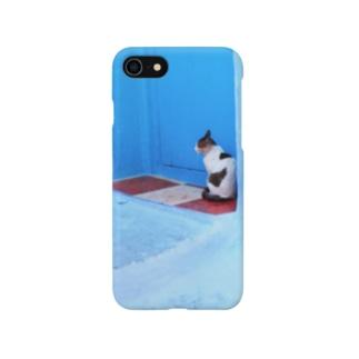 モロッコの猫さん Smartphone cases