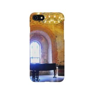孤独のピアノ【トラカイ城】 Smartphone cases