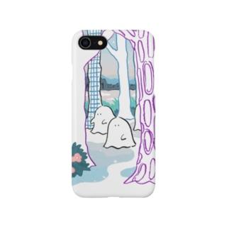 チーカマの森のオバケちゃん(ひる) Smartphone cases