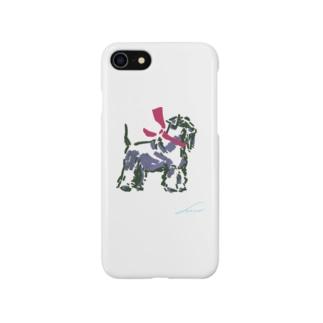 【schnauzer】 Smartphone cases