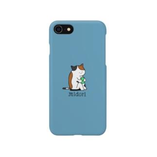 スマホ依存症 midori Smartphone cases
