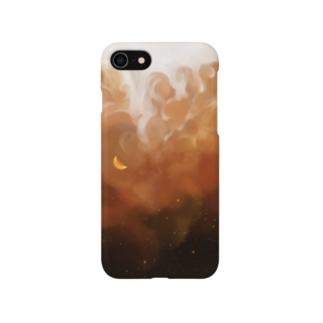 夜空とアイスコーヒー Smartphone cases