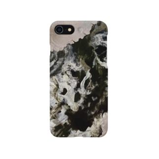「混沌と闇 」 Marble Smartphone cases