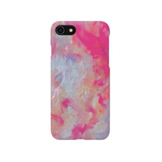 「人魚が泳ぐ海」 Marble Smartphone cases