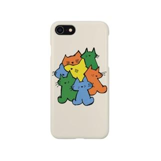 ねこまとめ Smartphone cases