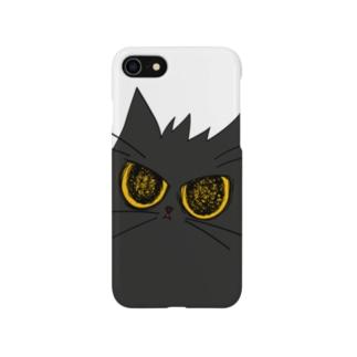 気まぐれ猫系店の鬼気迫る時雨 Smartphone cases
