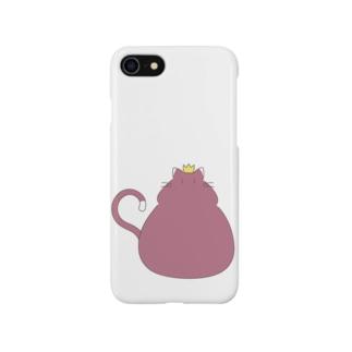 猫は王様 Smartphone cases