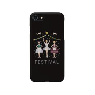 3人のバレリーナ Smartphone cases