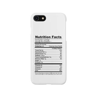 栄養表示(英語版) Smartphone cases