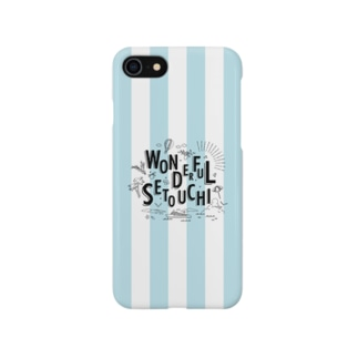 WONDERFUL SETOUCHI BLUE Smartphone cases