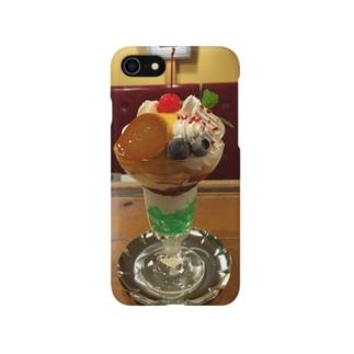 麗しのプリンパフェiPhoneケース Smartphone cases