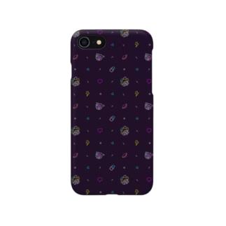 スマホケース_All Night!(総柄) Smartphone cases