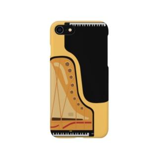 ピアノの切りくち Smartphone cases