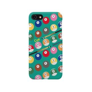 キュー探偵「K」スマホケース ブルーグリーン Smartphone cases